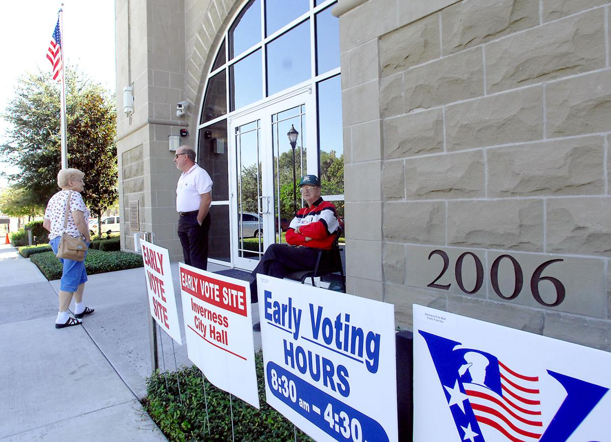 Early voting file photo