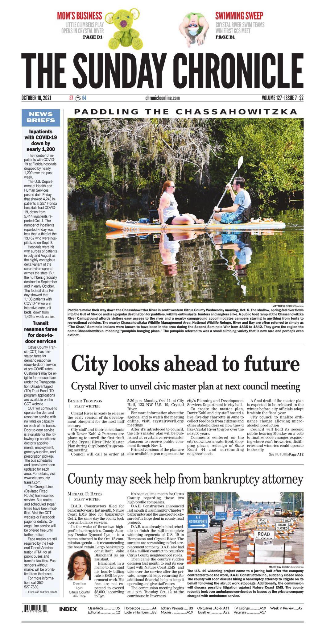 Citrus County Chronicle e-edition Oct 10, 2021