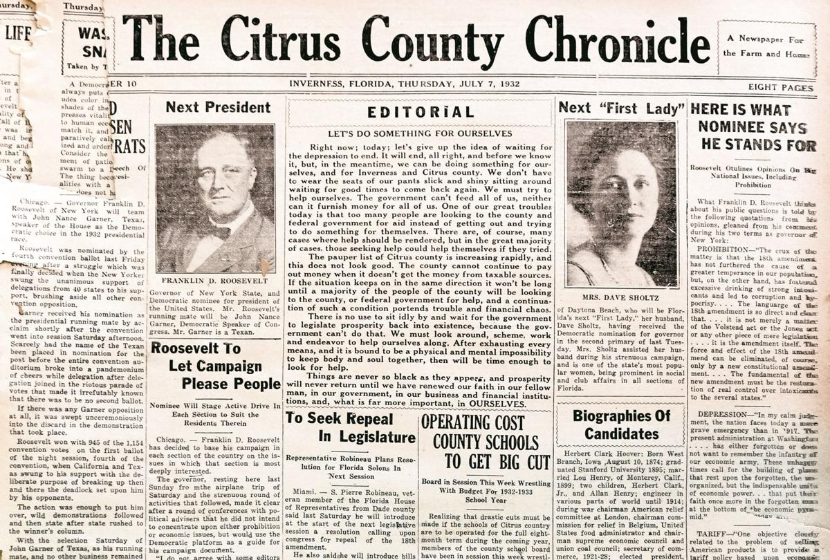Citrus County Chronicle July 7, 1932