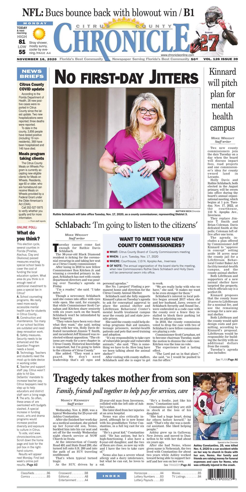 Citrus County Chronicle e edition Nov 16, 2020