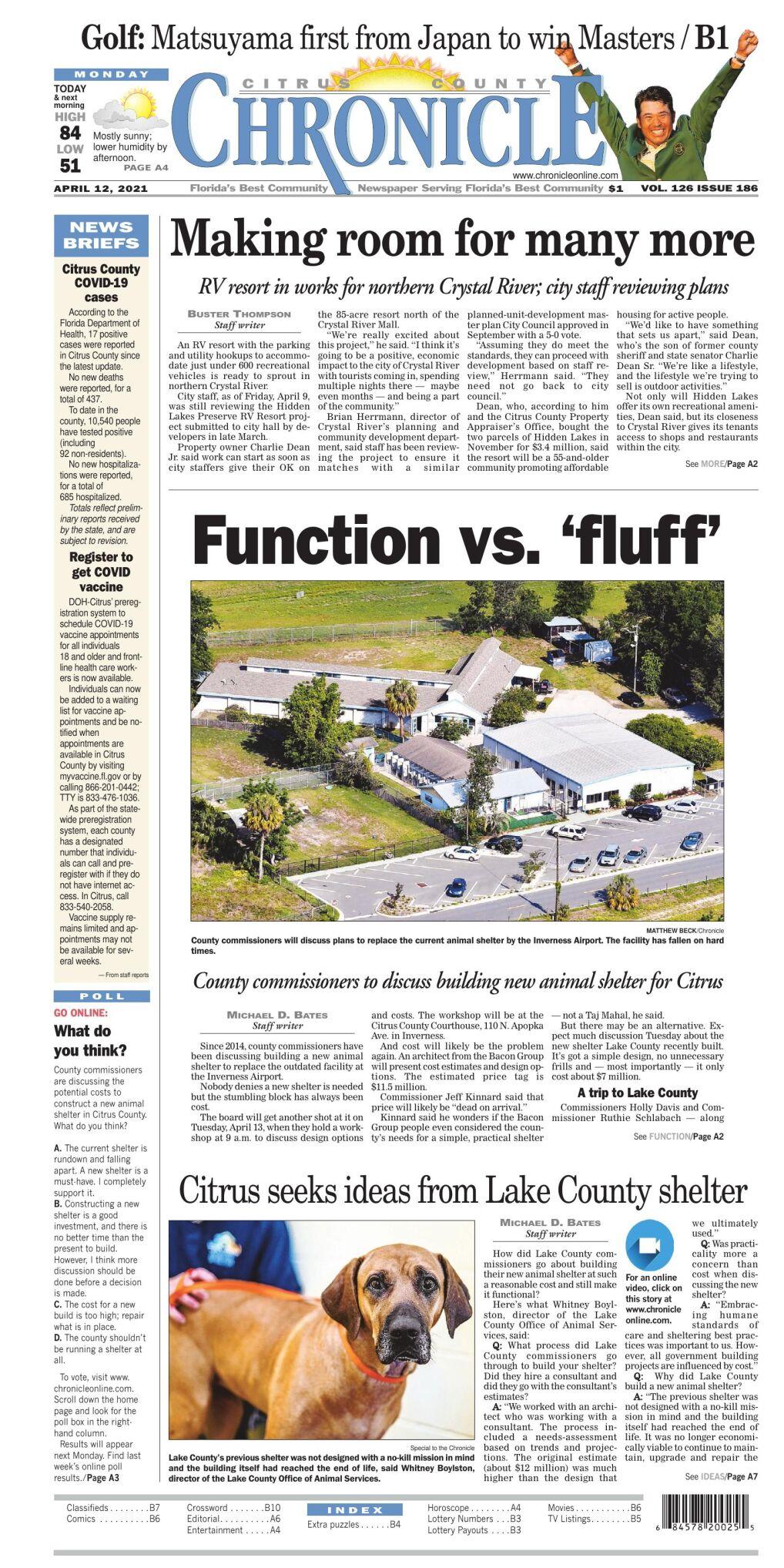 Citrus County Chronicle e edition Apr 12, 2021