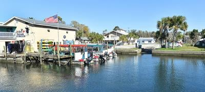 Boat ramp on Kings Bay