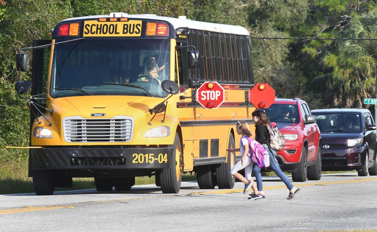 School Bus Stop (File)