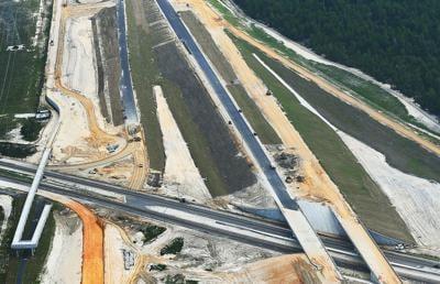 Parkway Construction at U.S. 98 looking north June 2020.jpg