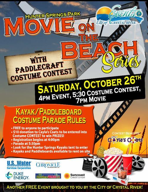 Citrus County Halloween Events 2020 Hunter Springs Halloween Event Flyer | Local News