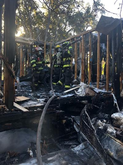 Firefighters at Dunnellon home blaze