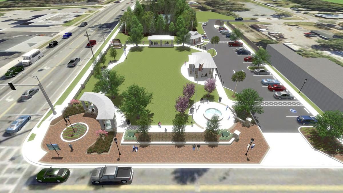 Crystal River Town Square Rendering 2
