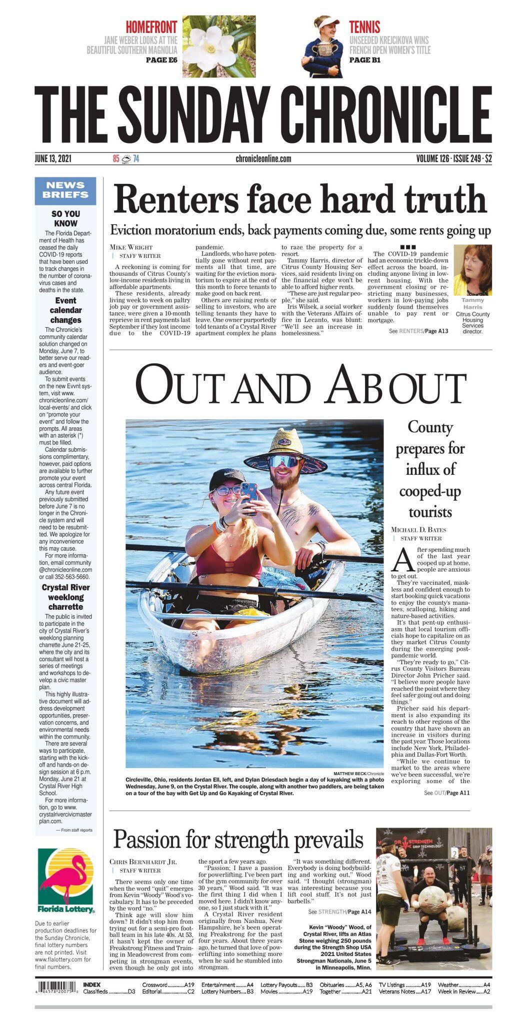 Citrus County Chronicle e-edition June 13, 2021