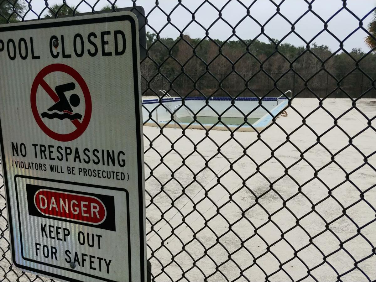 Beverly Hills pool closed