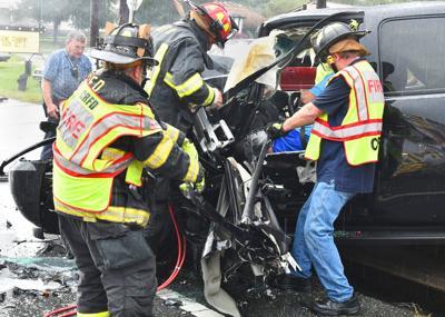 FHP cites dump-truck driver for second back-to-back crash