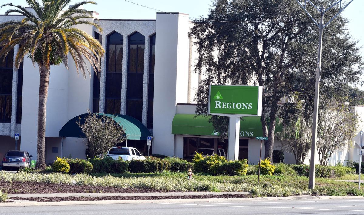 Regions bank building demolished