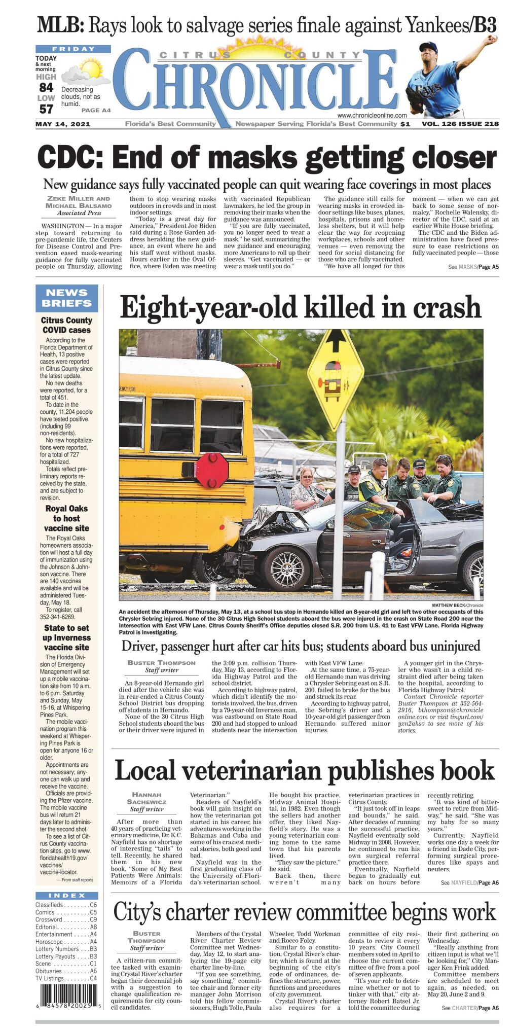Citrus County Chronicle May 14, 2021 e-edition