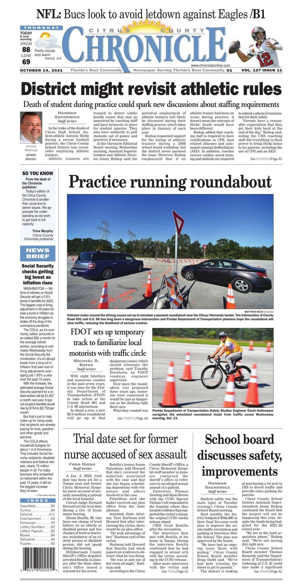 Citrus County Chronicle e-edition Oct 14, 2021
