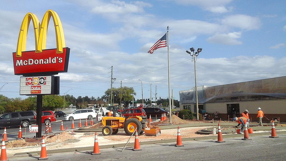 Inverness McDonald\'s getting makeover | Local News | chronicleonline.com
