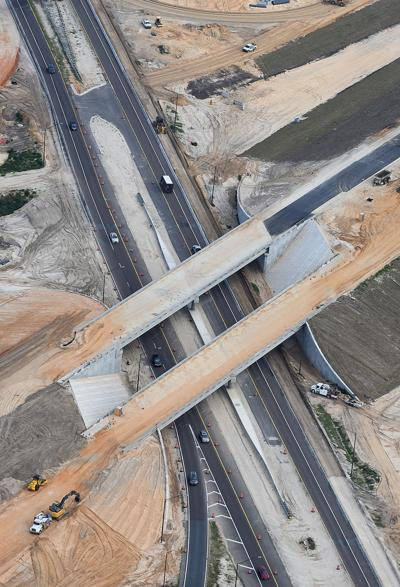 Suncoast Parkway construction