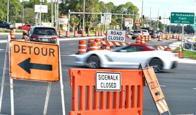 U.S. 19 construction traffic problems