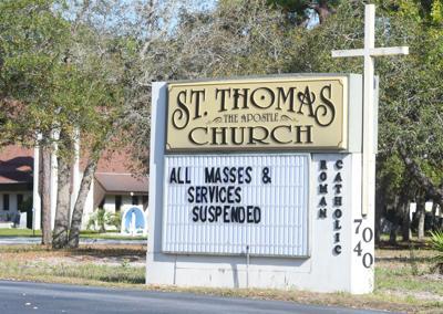 churches suspend services