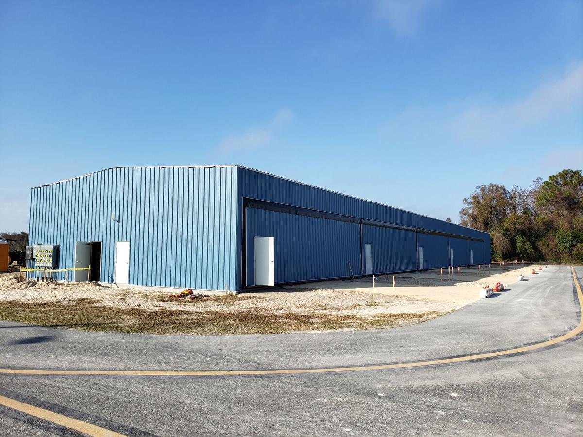 Improvements underway at Crystal River Airport: T-hangar exterior