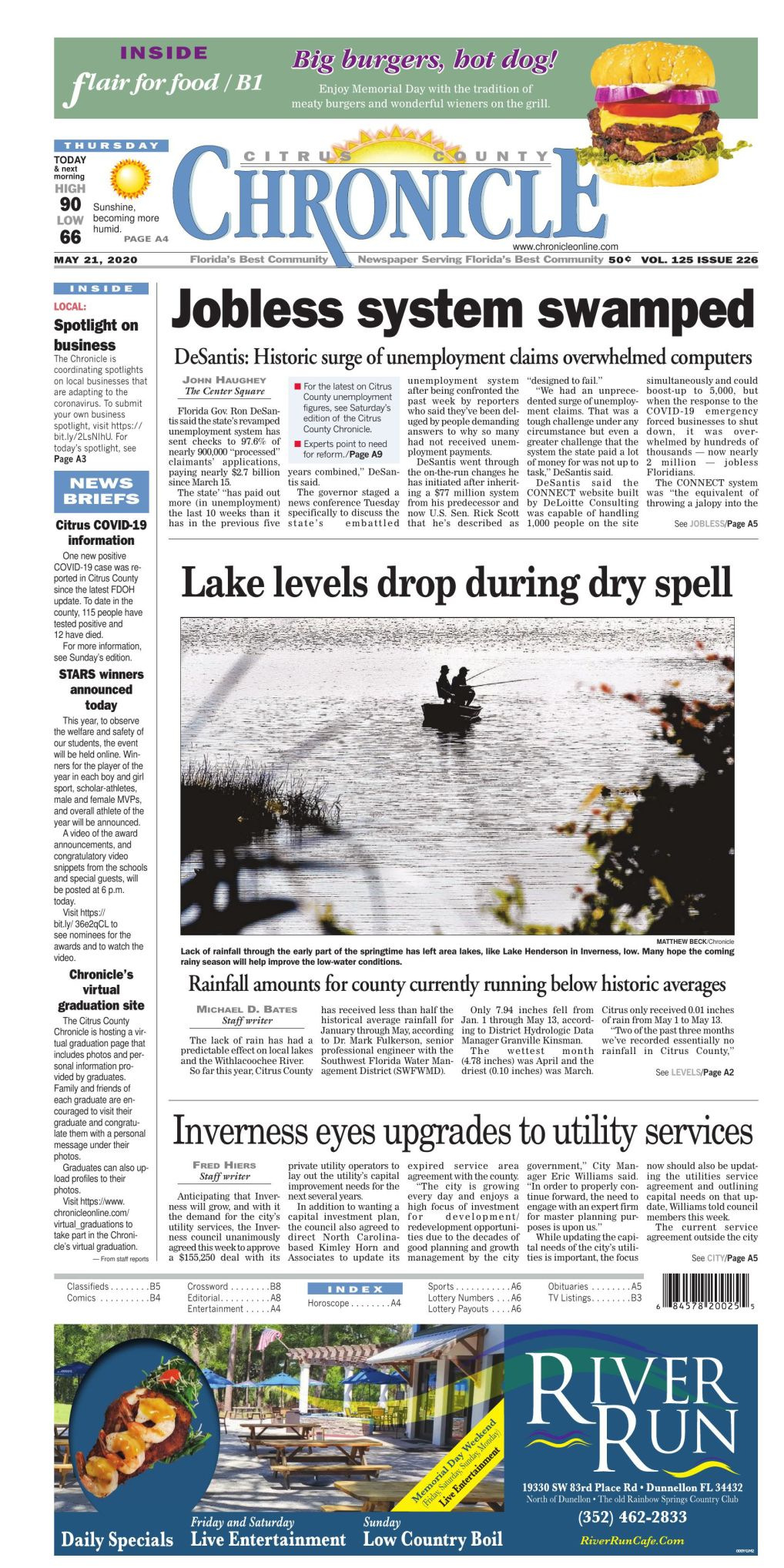 Citrus County Chronicle e-edition May 21, 2020