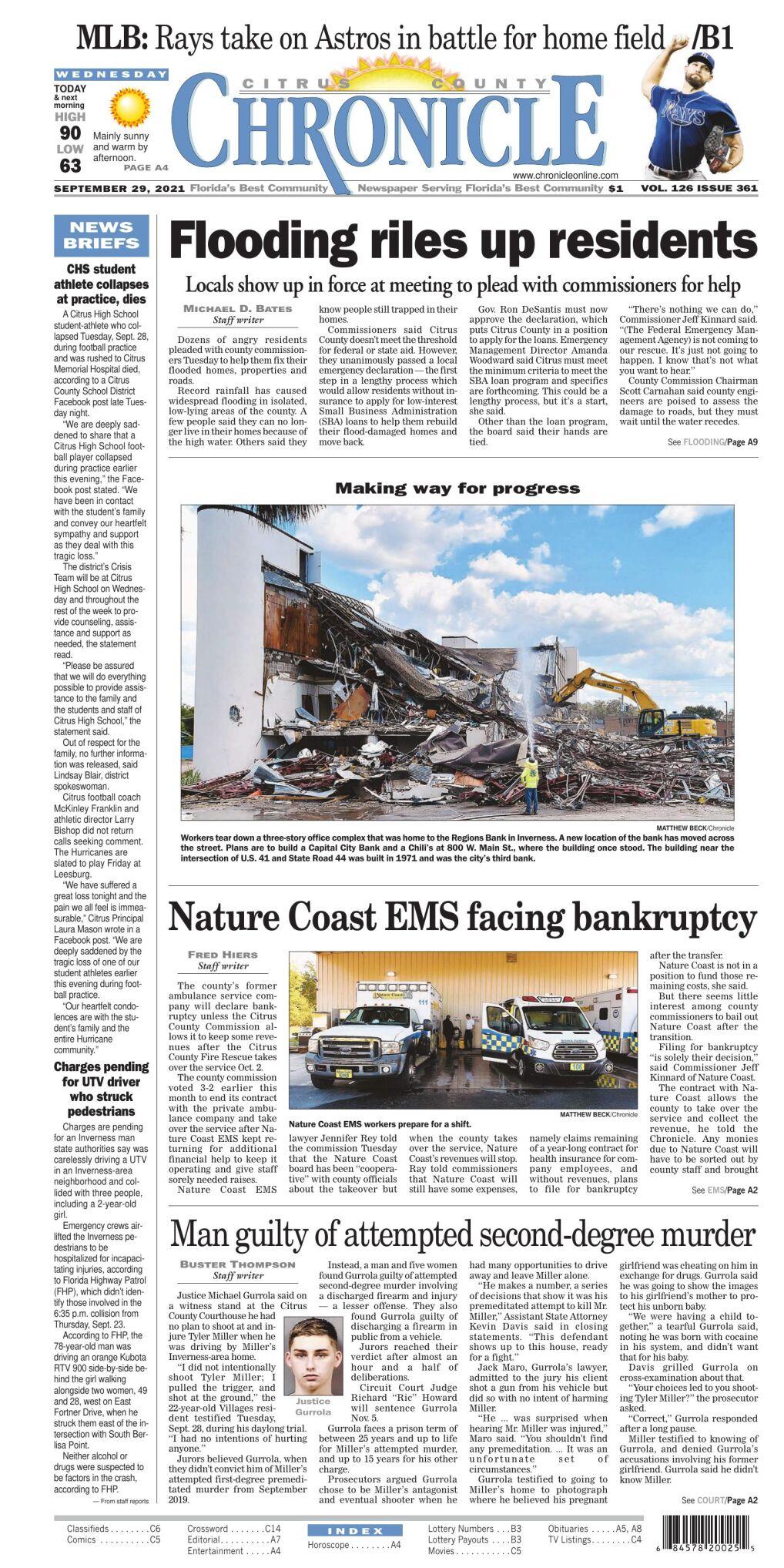 Citrus County Chronicle e-edition  Sep 29, 2021