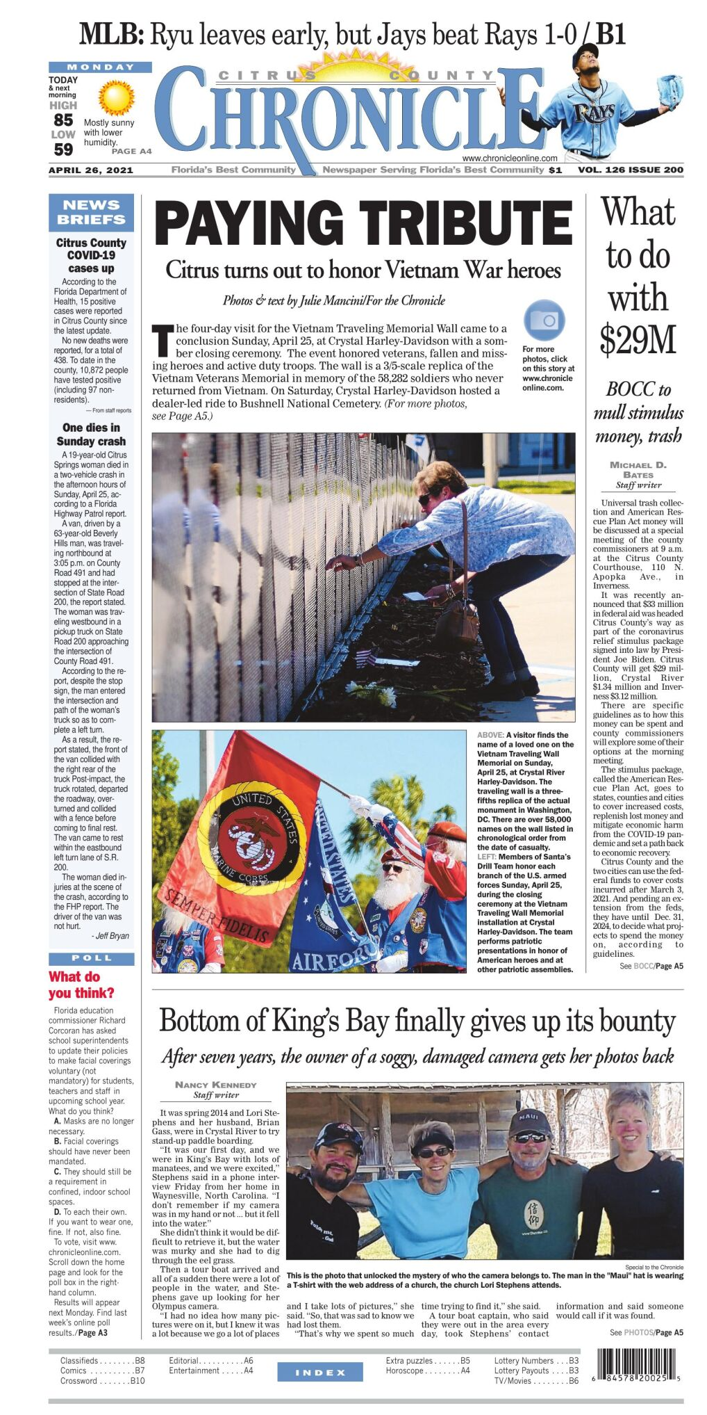 Citrus County Chronicle e edition Apr 26, 2021
