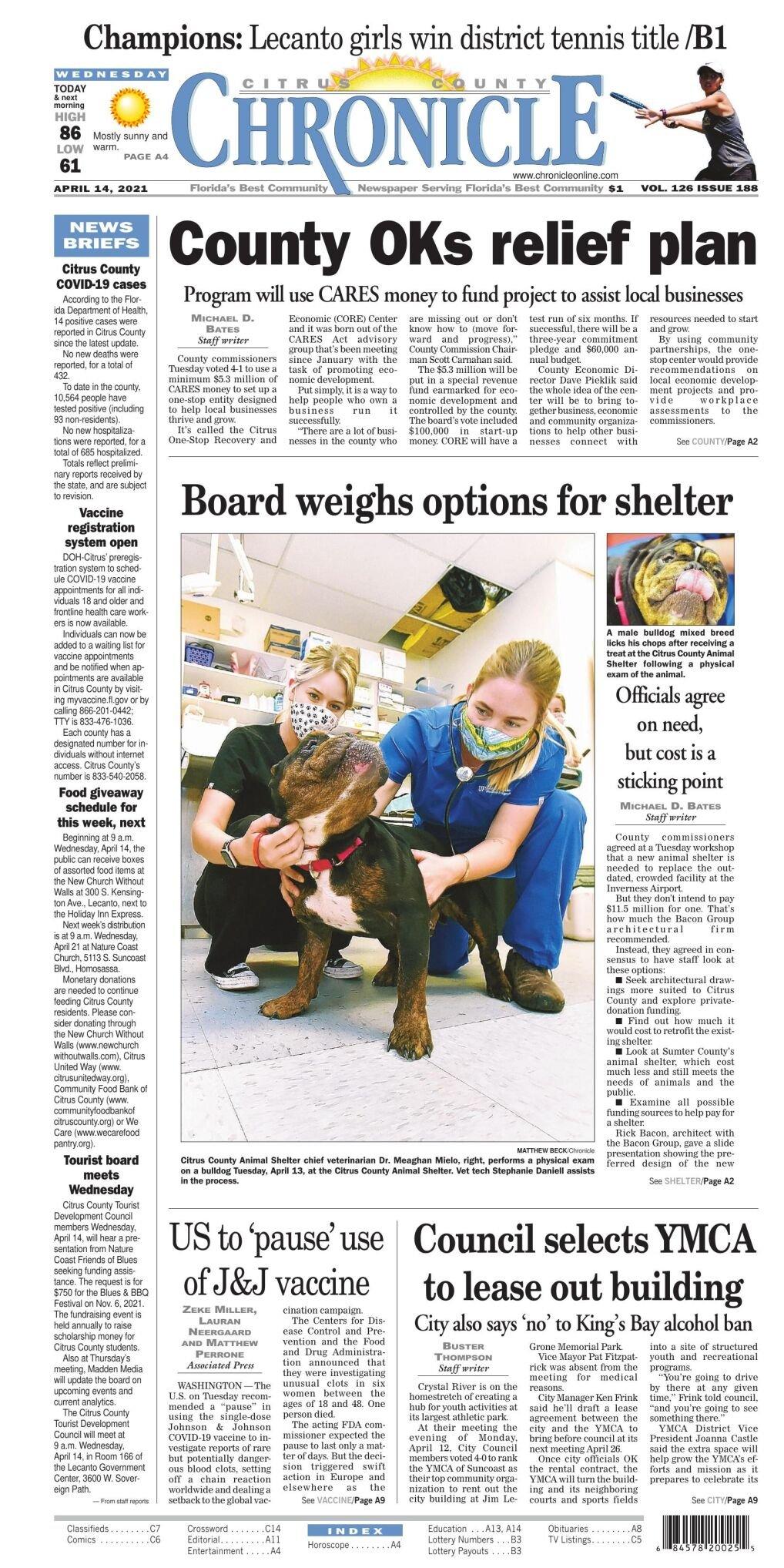 Citrus County Chronicle e edition Apr 14, 2021
