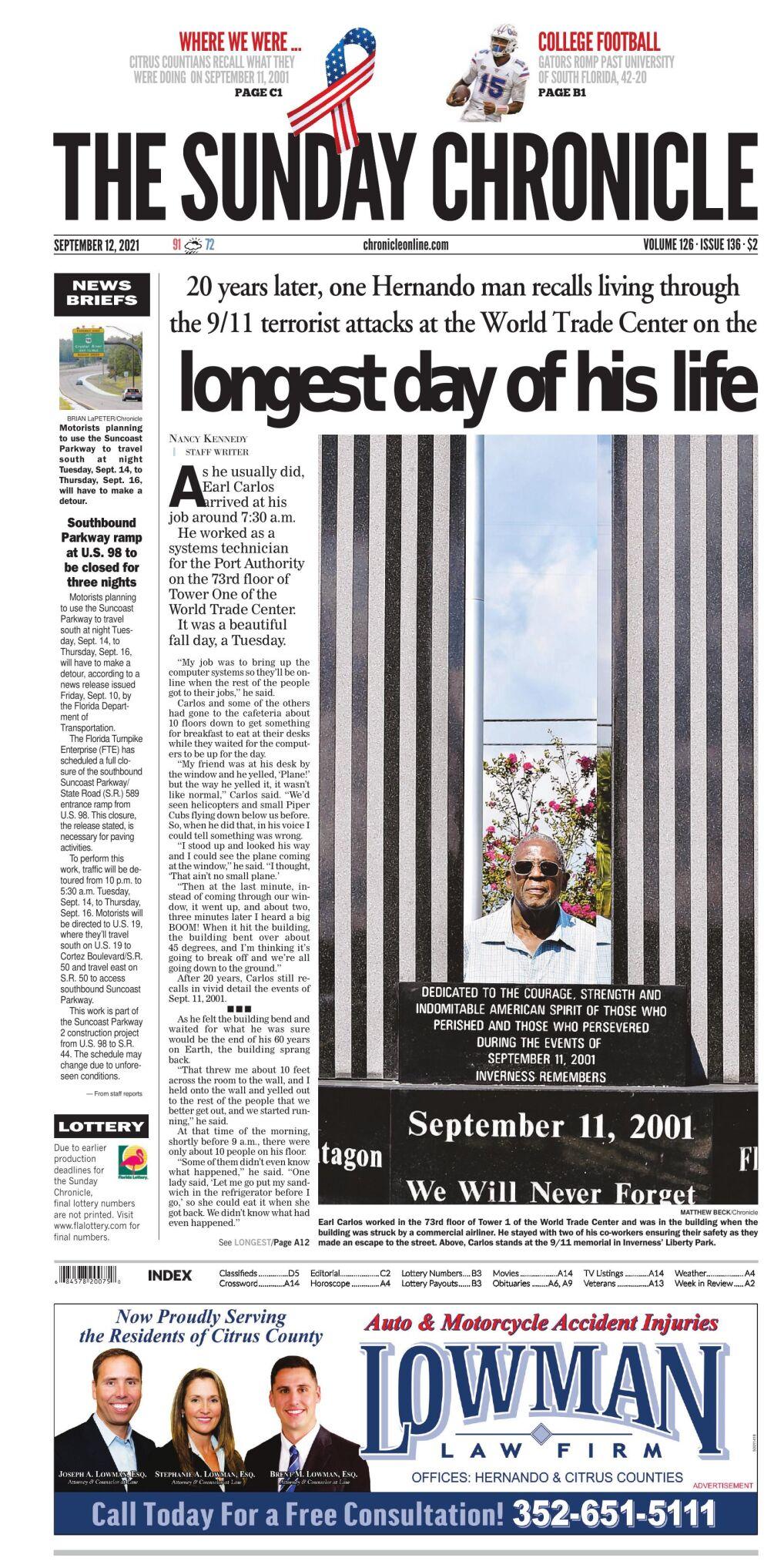 Citrus County Chronicle e-edition Sep 12, 2021