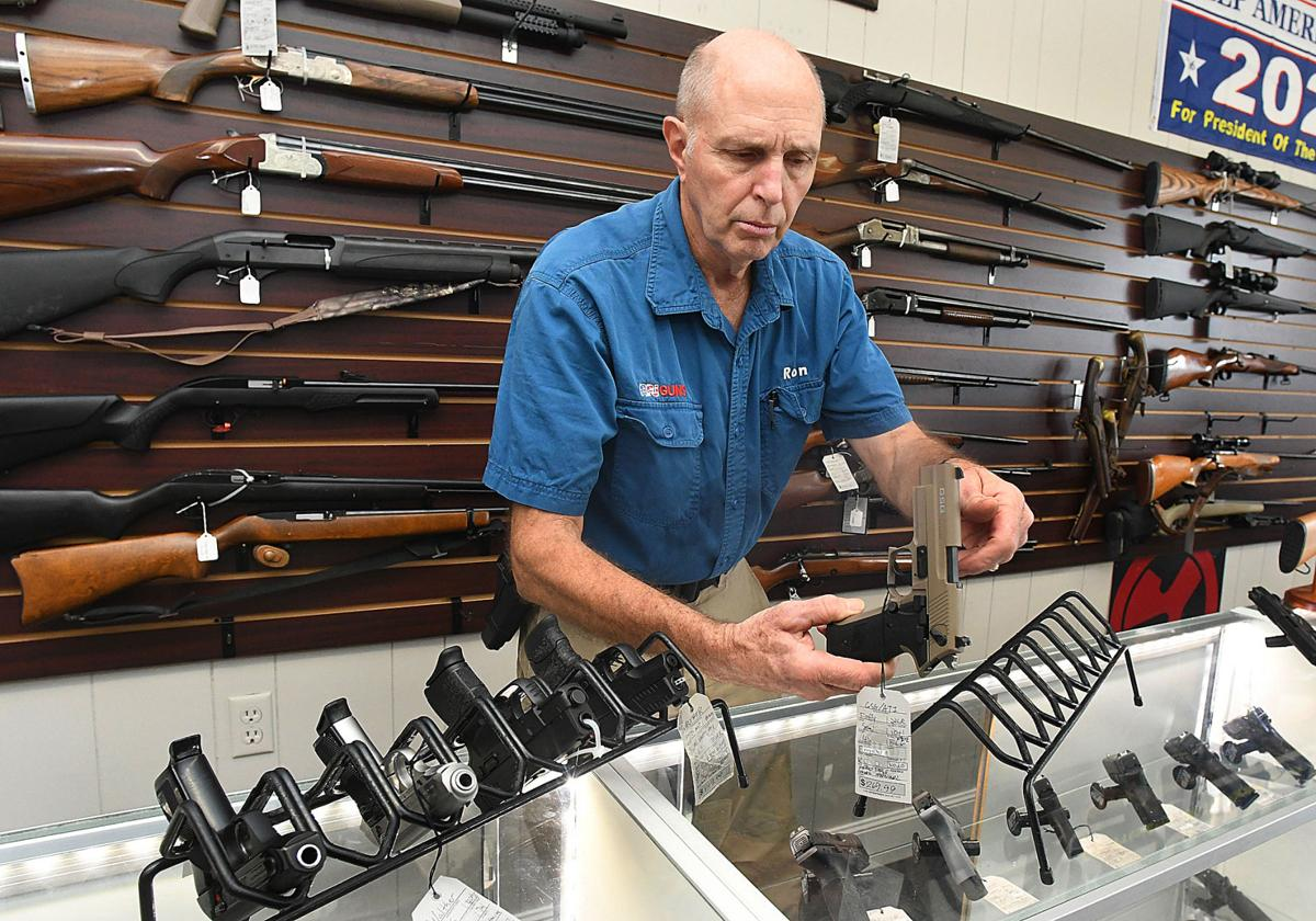 Gun sales dominant