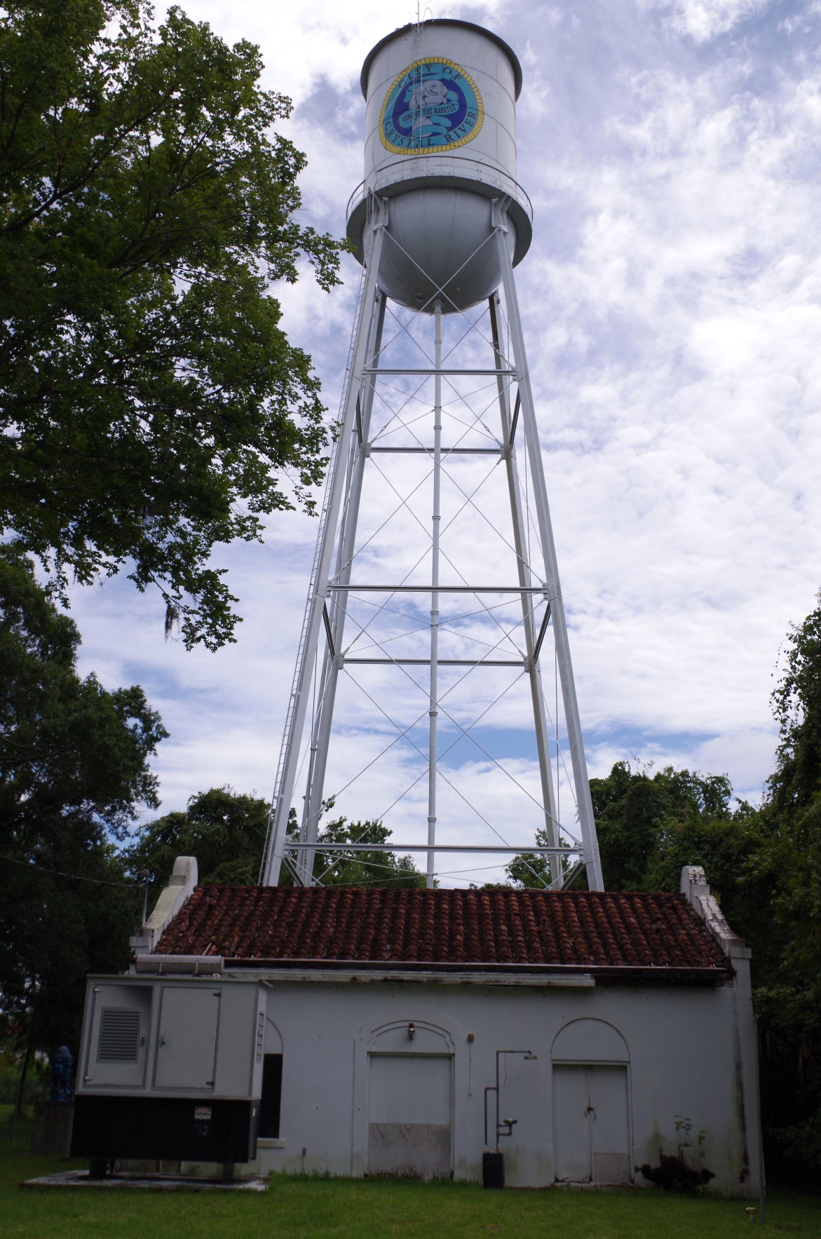 Crystal River Pump House / Water Tower