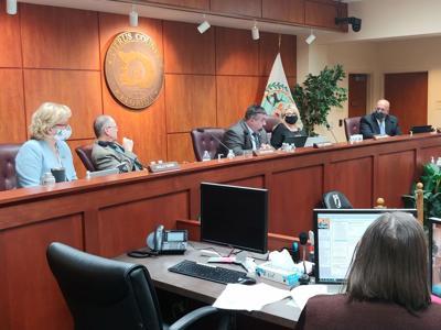 Commission discuss cares