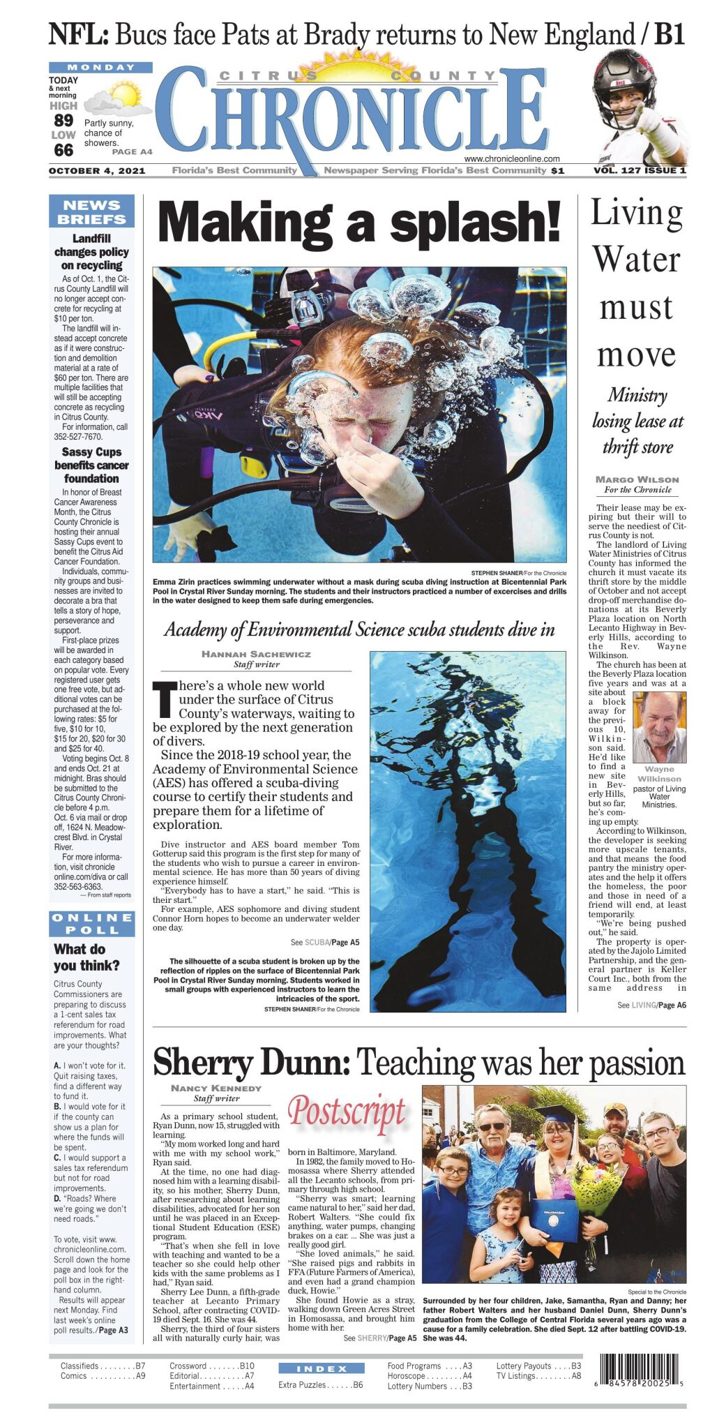 Citrus County Chronicle e-edition Oct 4, 2021
