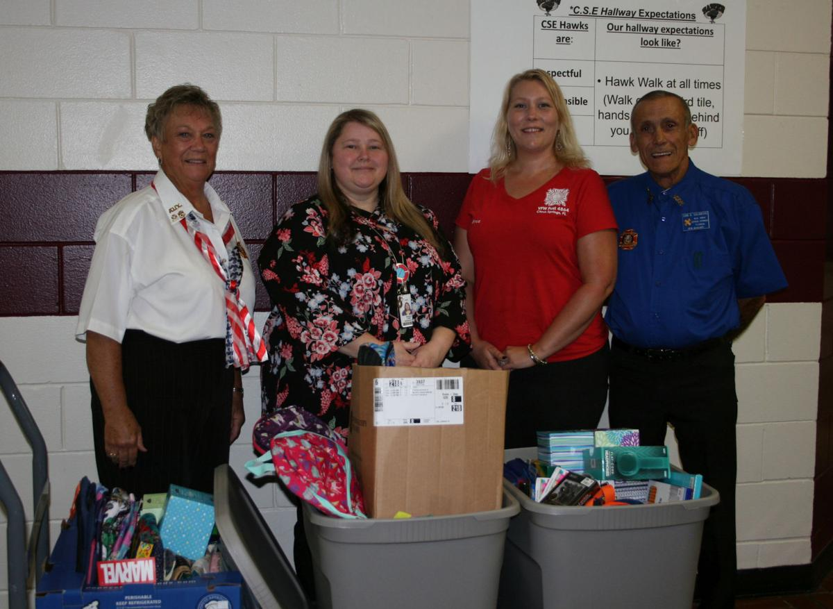 VFW Auxiliary donates to Citrus Springs Elementary