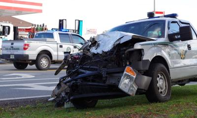 FHP cites semitrailer driver in crash that hospitalized FWC