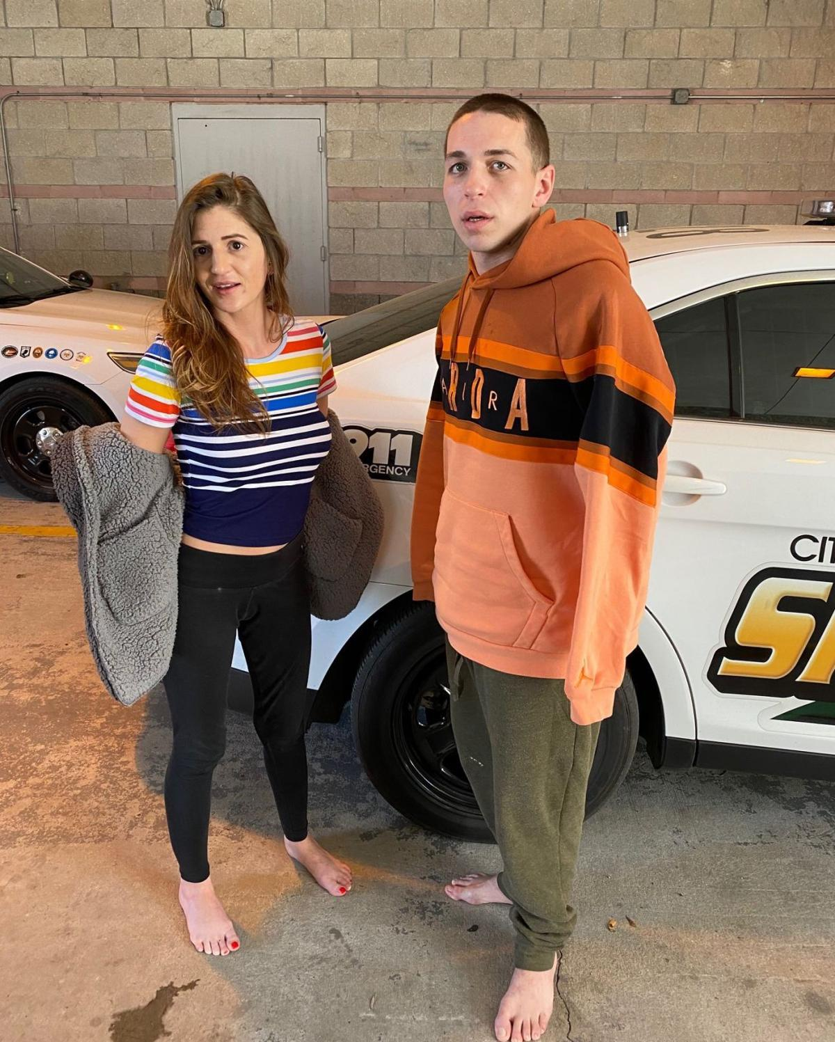 Brittany Carlton, Sean Heaney Arrests