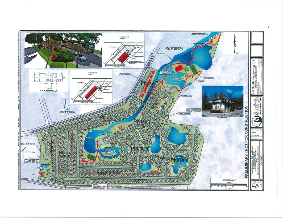 2018 Plantation RV Park Plan