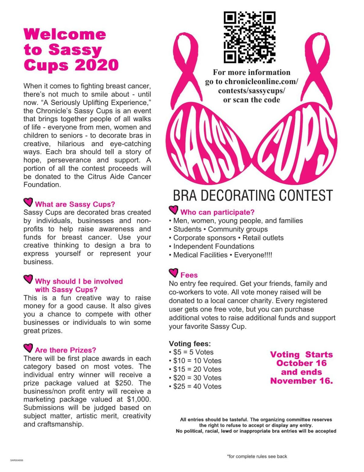 Sassy Cups 2020 Submission Form
