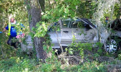 Single Vehicle Crash July 16, 2021