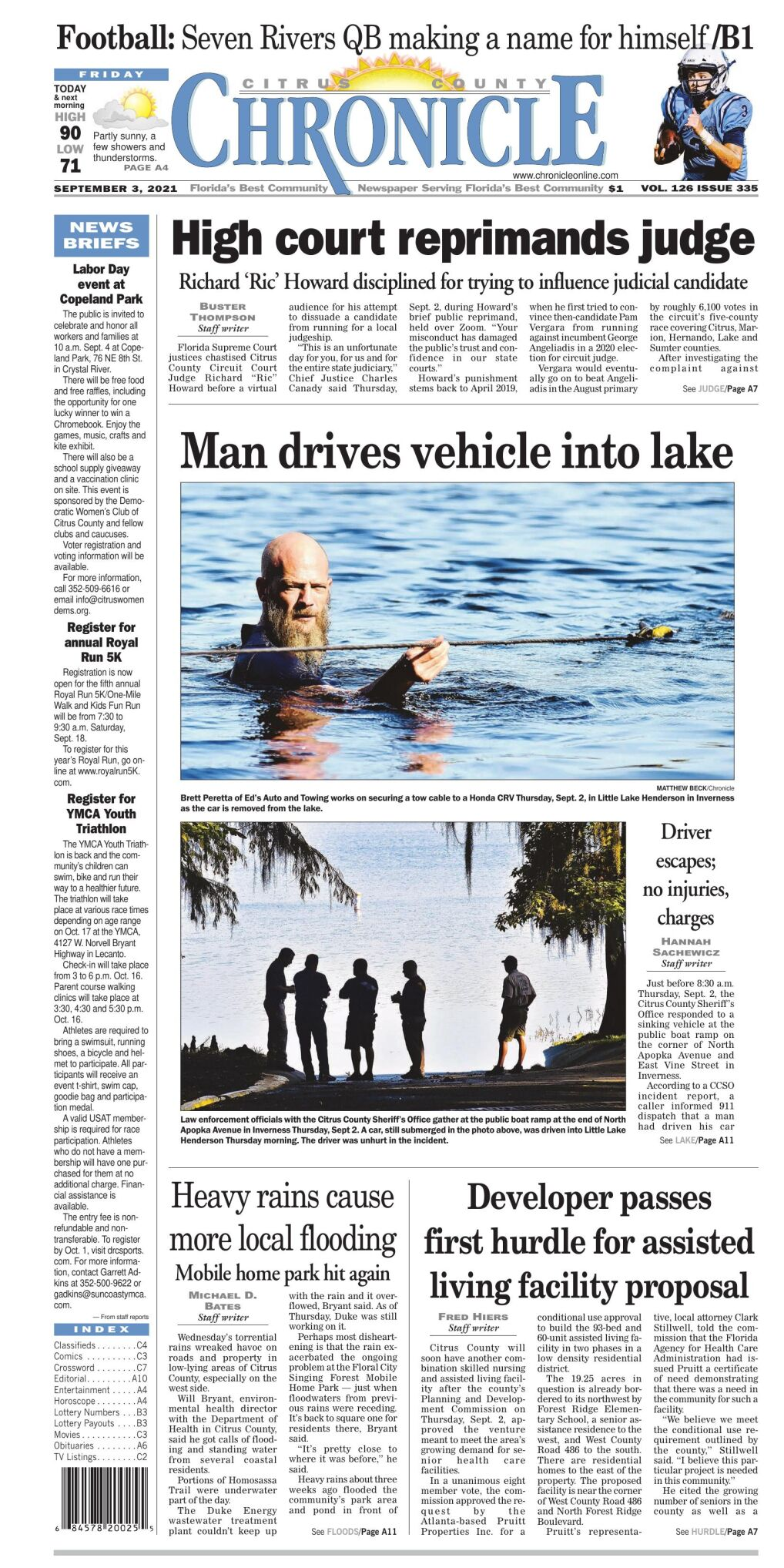 Citrus County Chronicle e-edition Sep 3, 2021