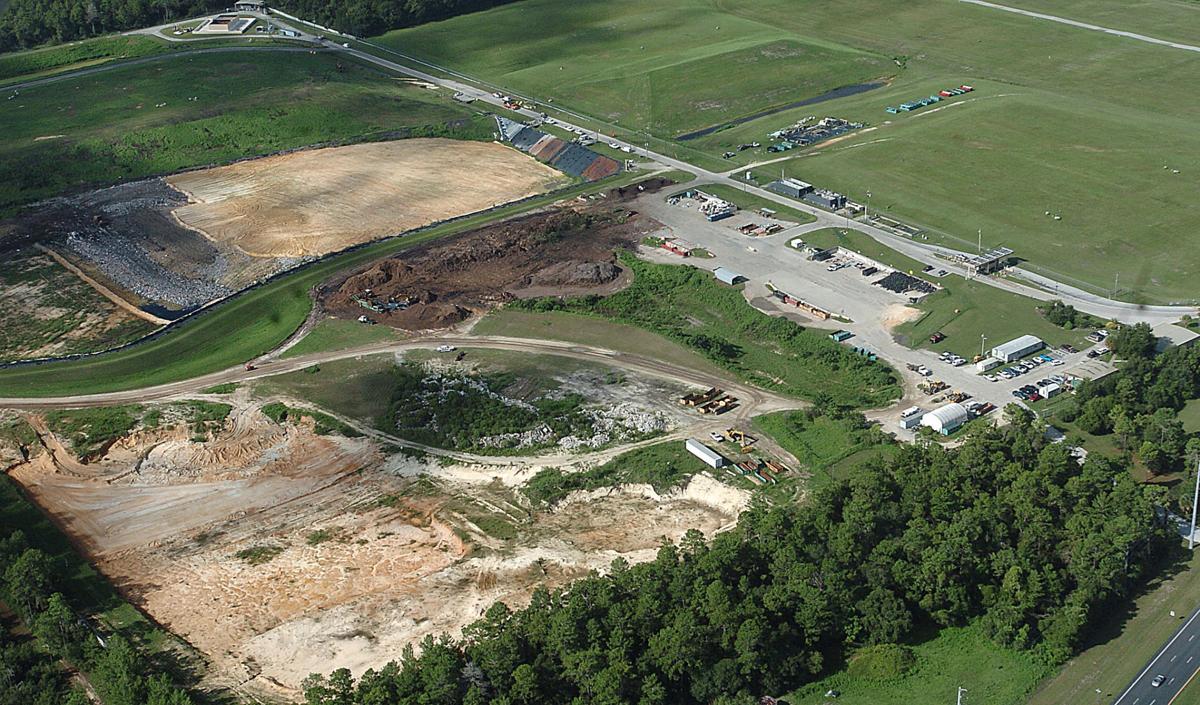 Citrus County landfill aerial