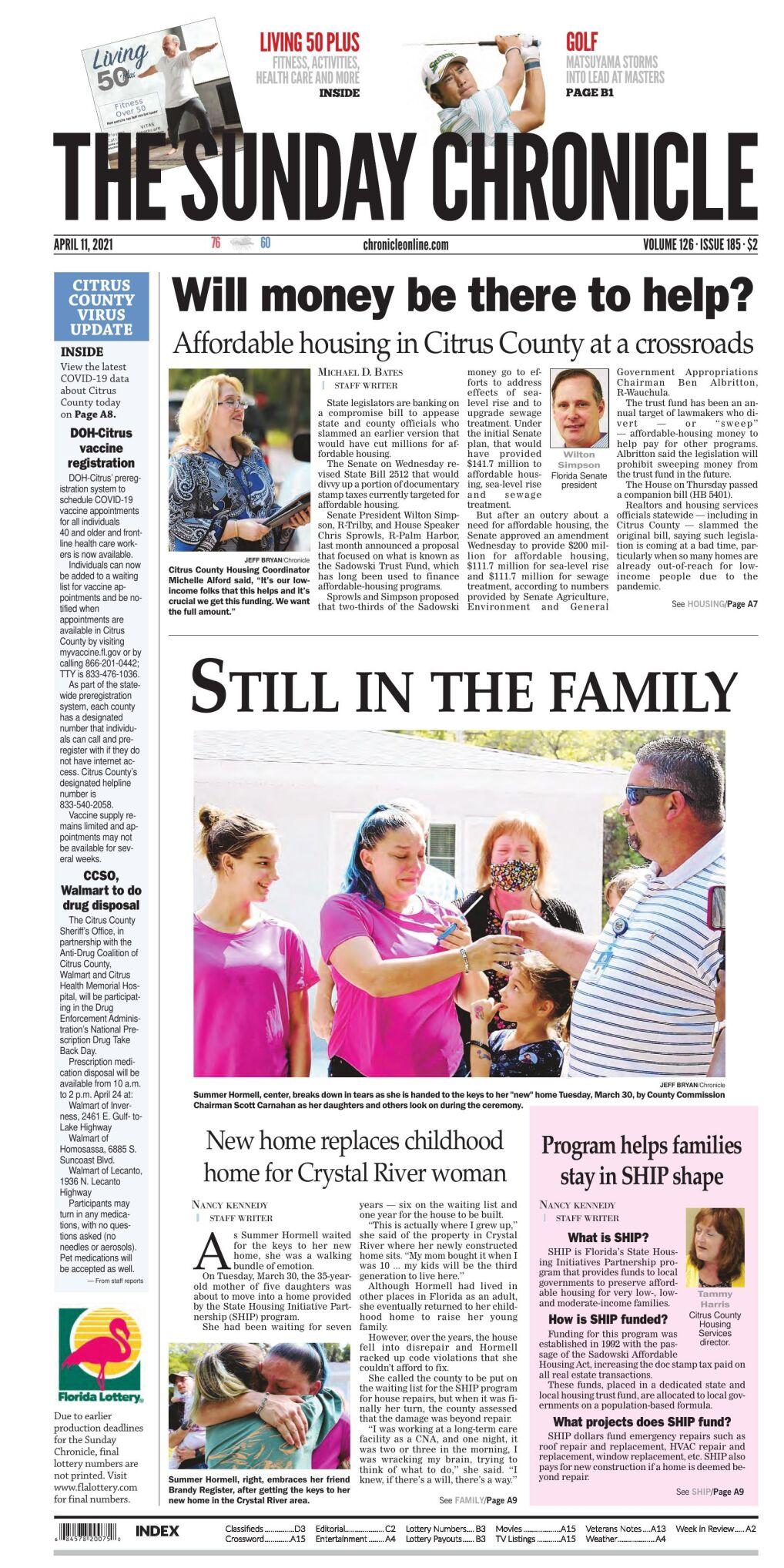 Citrus County Chronicle e-edition Apr 11, 2021