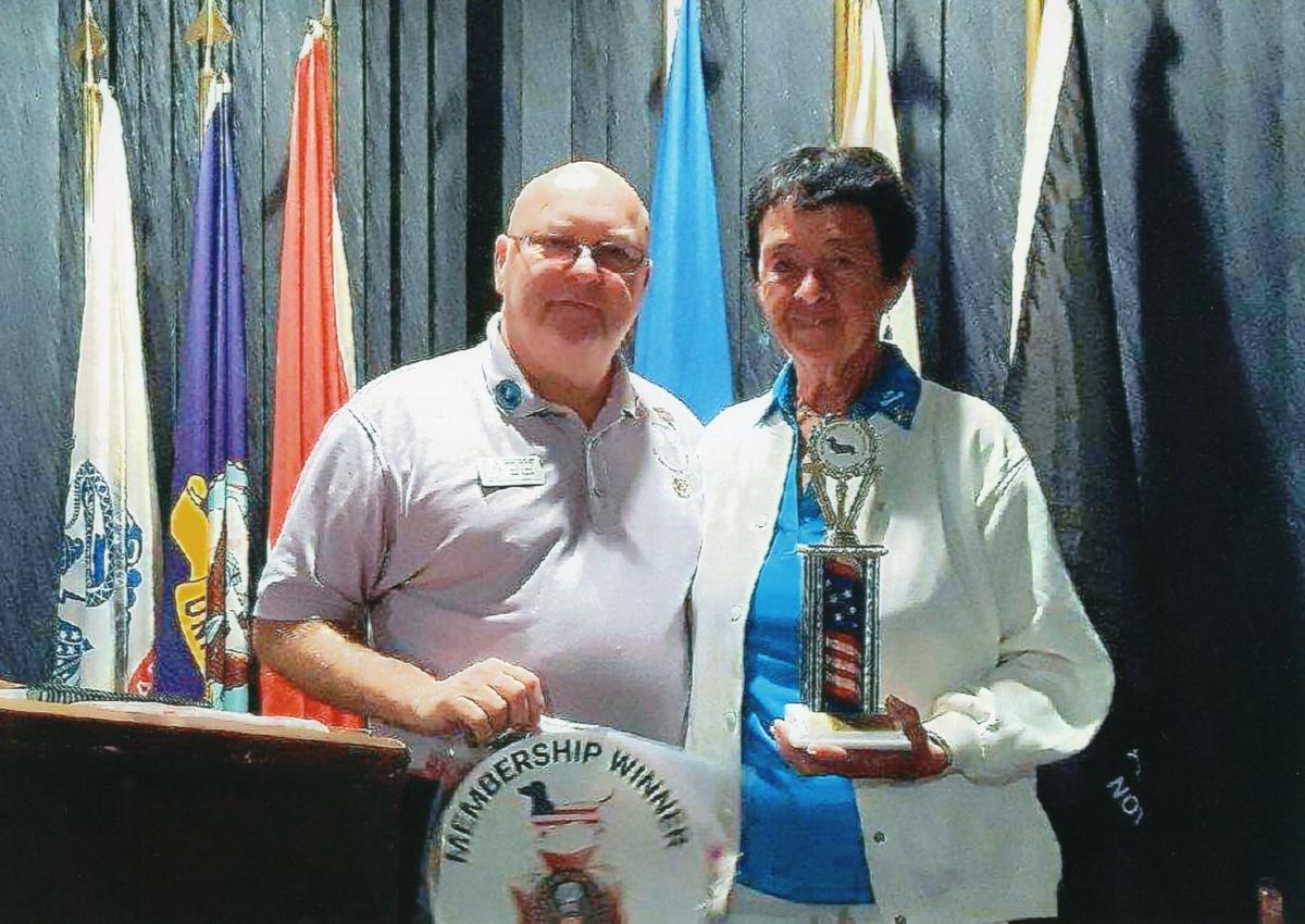 VFW Aux award 2