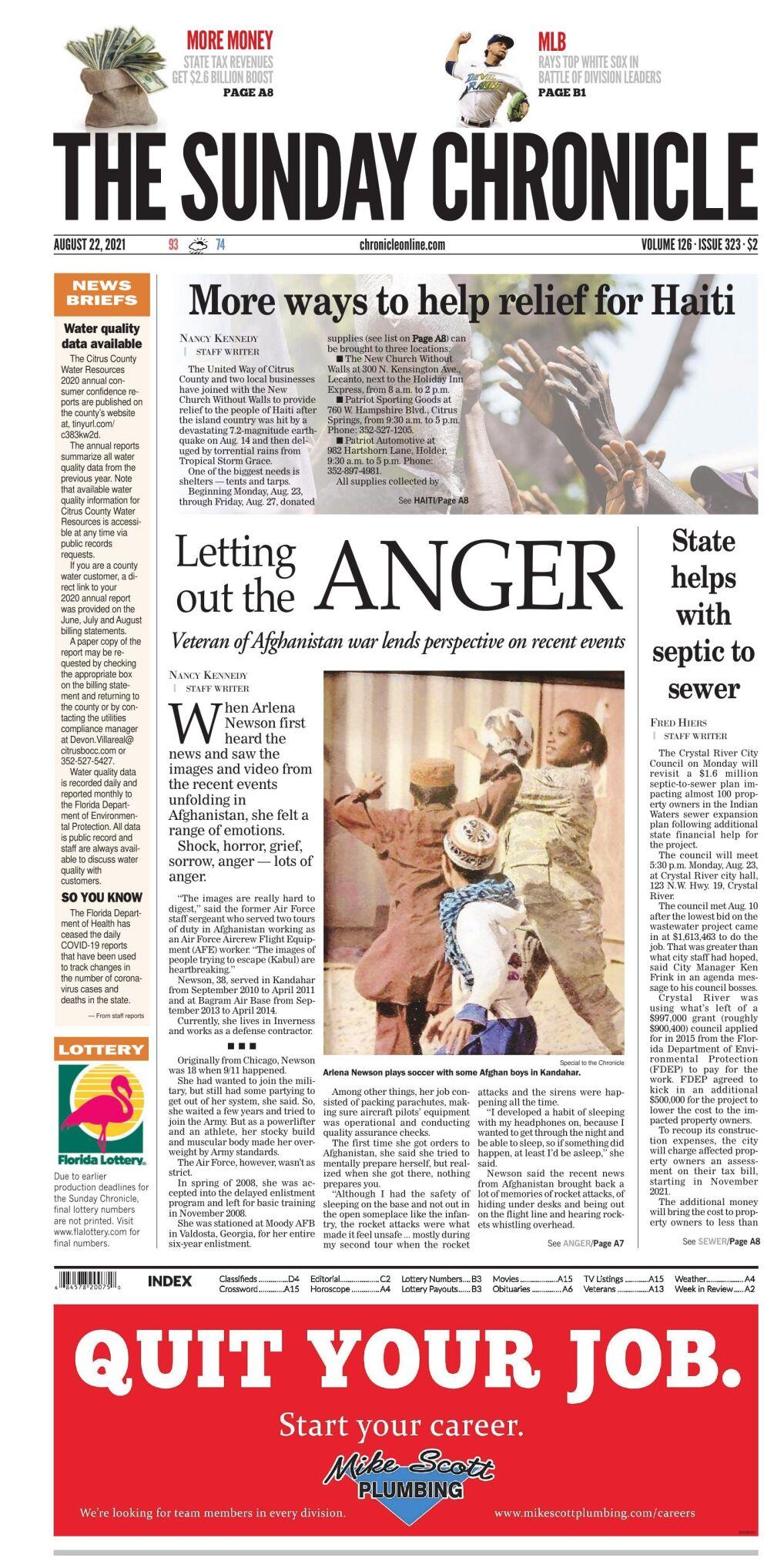 Citrus County Chronicle e-edition Aug 22, 2021