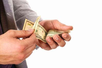 Money art for campaign spending