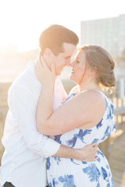 Elizabeth & Caleb's Engagement in Charleston