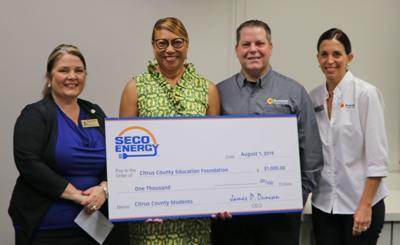SECO donates to CCEF