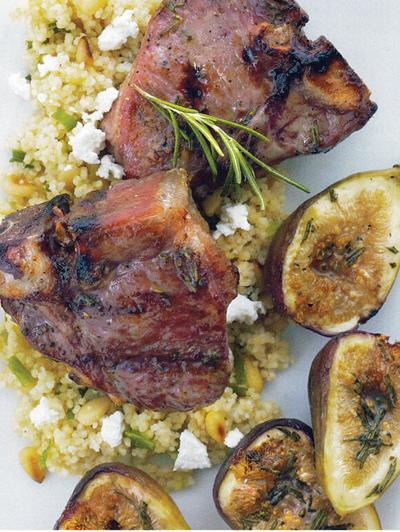 Lamb and honey figs