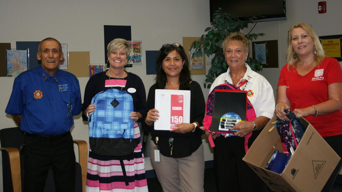 Citrus Springs VFW Auxiliary donates to CRE
