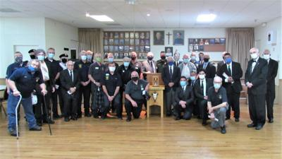 Knights Assembly 1547 induct new members
