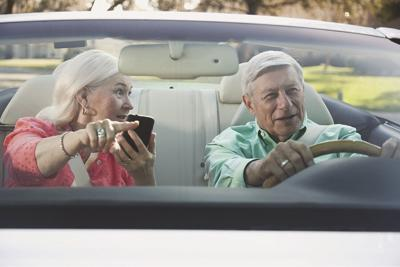Signs of unsafe driving in older drivers