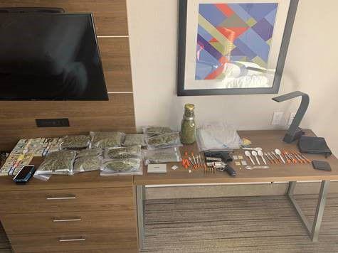 Hotel Room Drug Bust